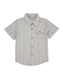 Me & Henry Boy's Multi-Stripe Button-Down Shirt w/