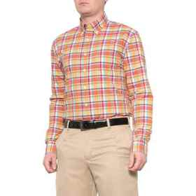 Bobby Jones Monaco Plaid Shirt - Long Sleeve (For