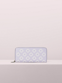 Kate Spade sylvia perforated slim continental wall