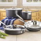 All-Clad LTD2 Cookware Set, 8 piece