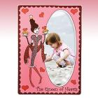 "Queen of Hearts 5"" x 7"" Frame by Gorham®"